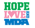 Hope Love MDA – Embroidered